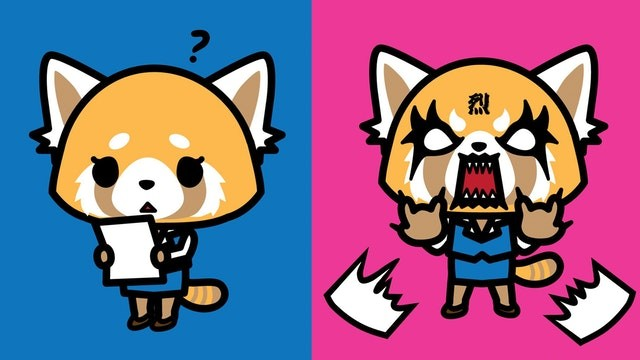 12 Days of Anime: Aggretsuko, Wotakoi and Adulting